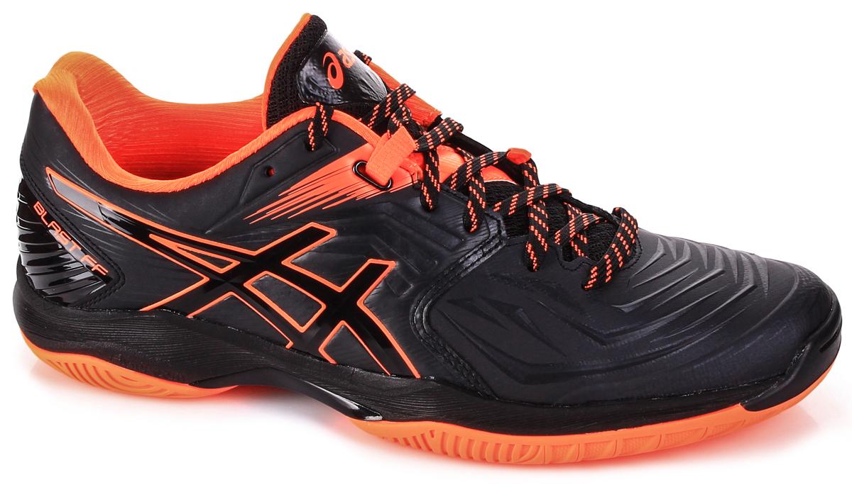 Ascis Blast FF Black Orange - Buty do squasha - męskie - sklep 3bb22b2b53