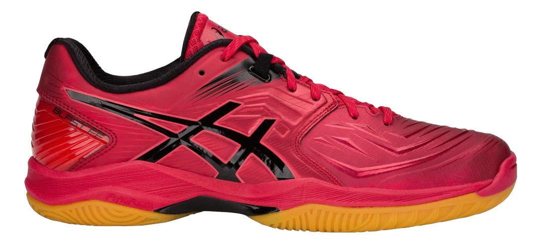 Asics Blast FF Samba Red squash shoes