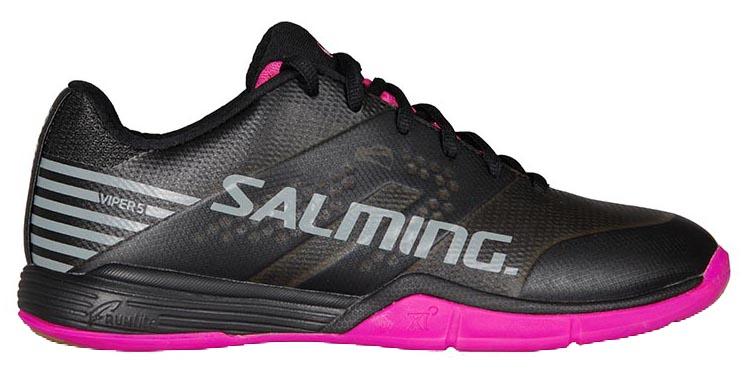 Salming Viper 5 Damens Schuhe schwarz schwarz Schuhe Pink 74567a