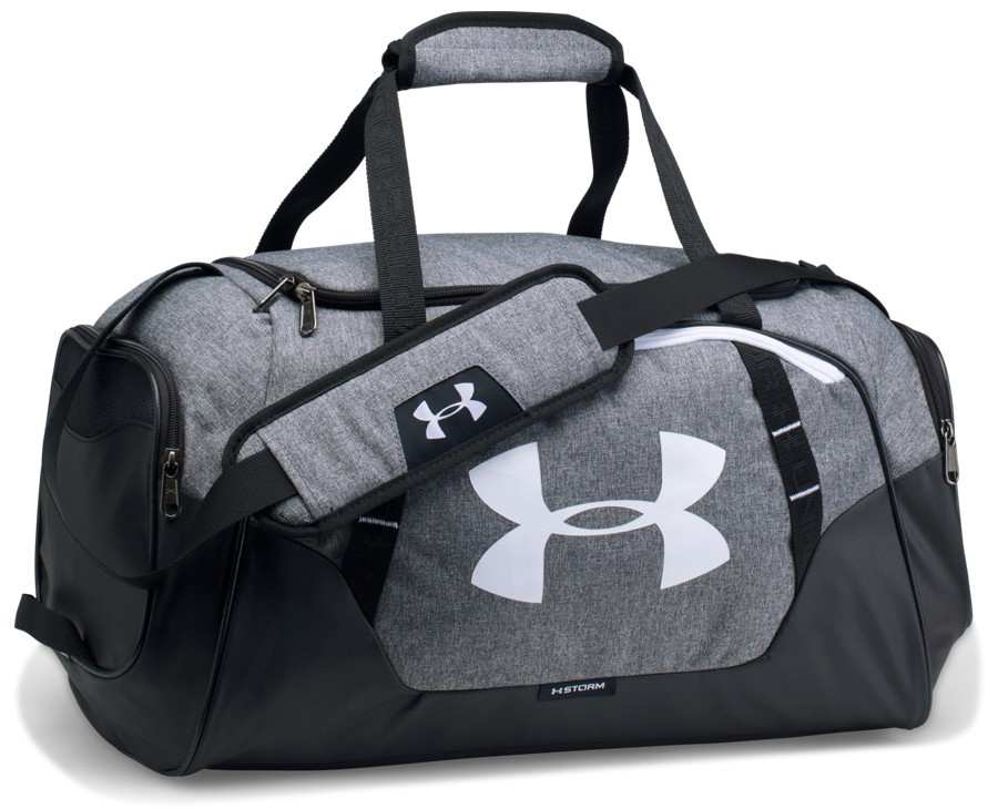 dce746a306eab Under Armour Duffle 3.0 SM Graphite Black - Torby sportowe