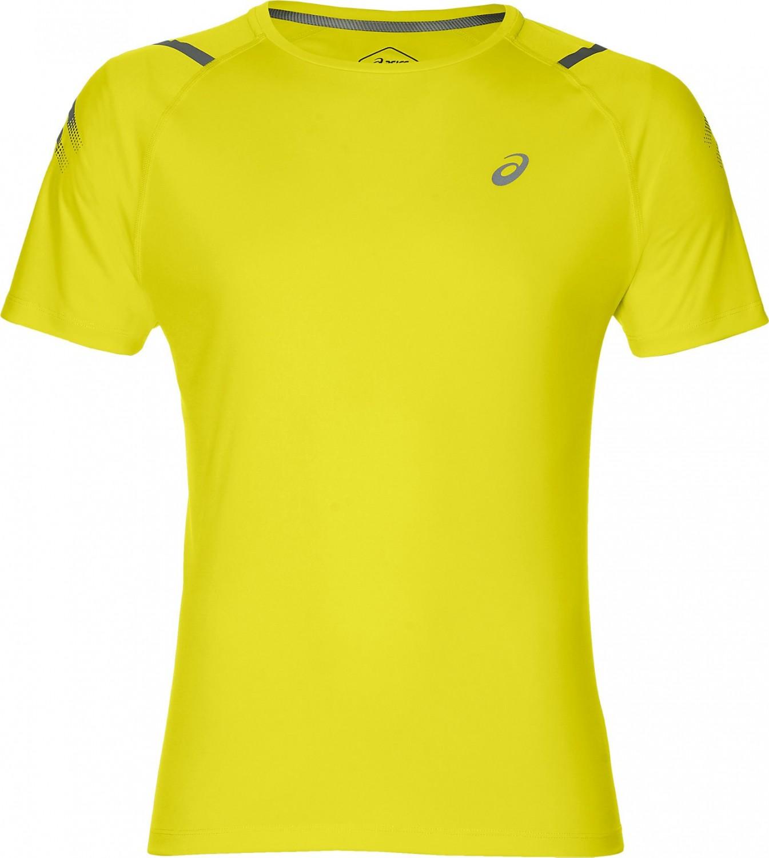 4a534c7b1 Asics Icon SS Top Lemon Spark Dark Grey - Ubrania męskie do squasha ...