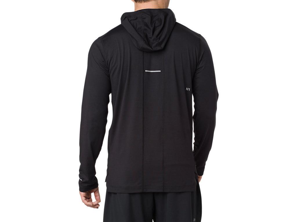 5100f8a9f1be6 Asics Long Sleeve Hoodie Performance Black - Ubrania męskie do ...
