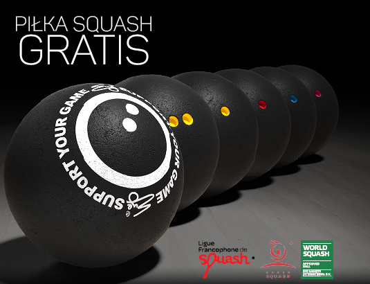 Piłka Squash GRatis!