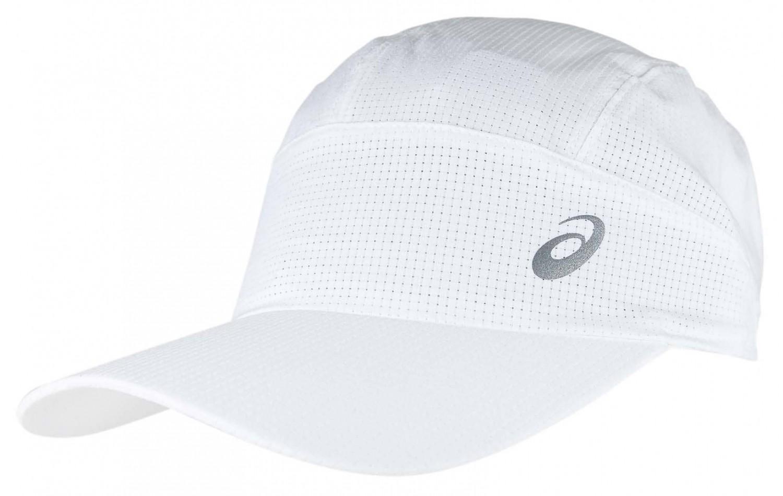 Asics Lightweight Running Cap Brill White - Czapki a738322bf95b