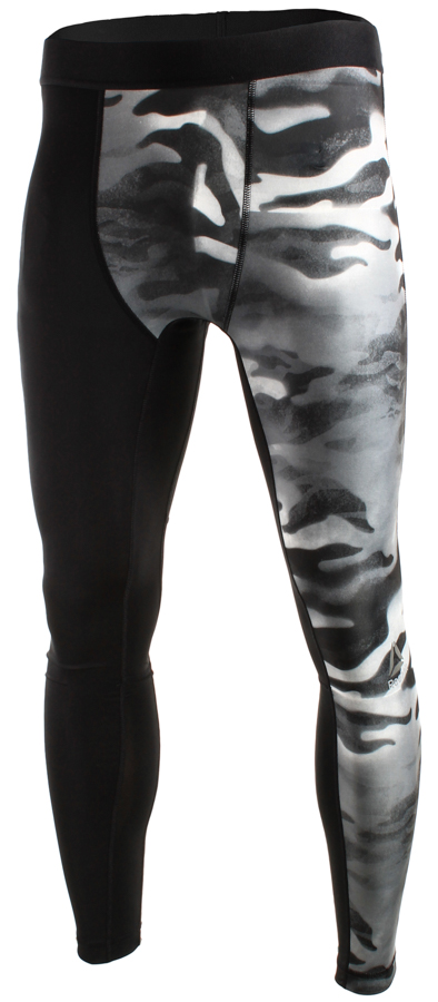 f661e2355 Reebok Spray Camo Compression Tight Black - Ubrania męskie do ...