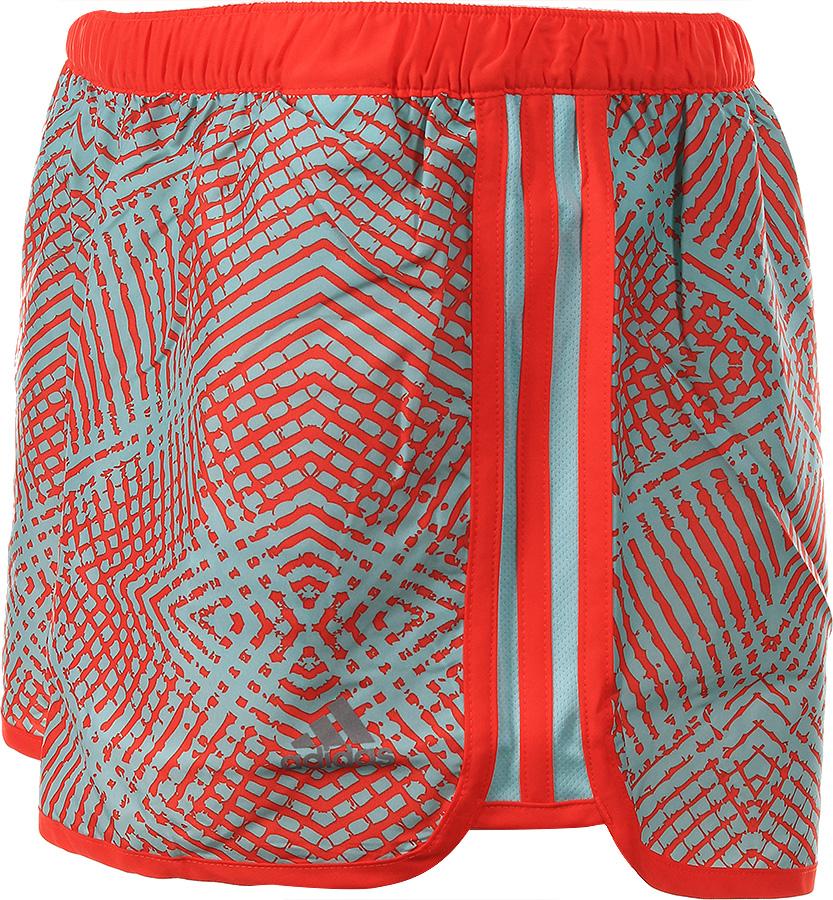 ogromna zniżka najlepsze oferty na Nowe Produkty Adidas Szorty Climalite M10 Czerwone Damskie