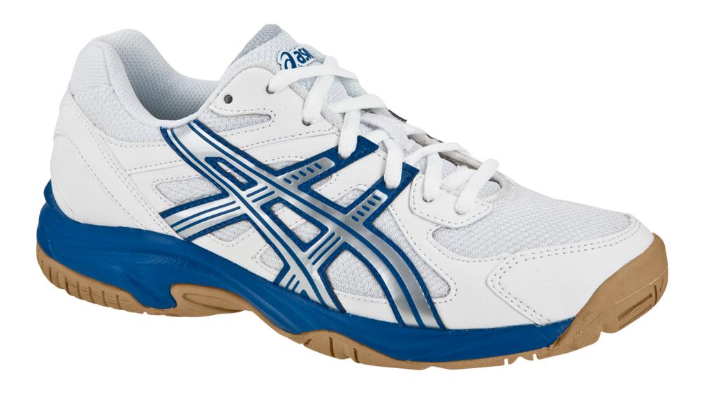 Asics Gel Doha Kids Biało niebieskie