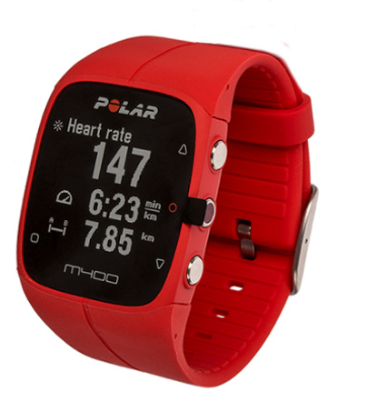 1c0221f7 Polar M400 Czerwony + HR pas do mierzenia tętna - Zegarki i pulsometry