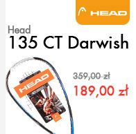 Rakieta do squasha Head 135 CT Darwish