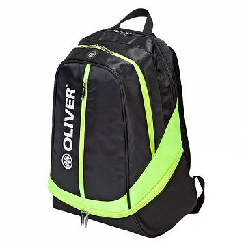 Oliver Backpack Black / Neon