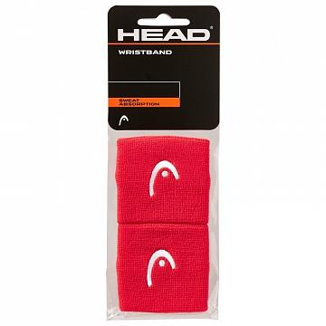 "Head Wristband 2,5"" Red"
