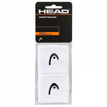 "Head Wristband 2,5"" White"