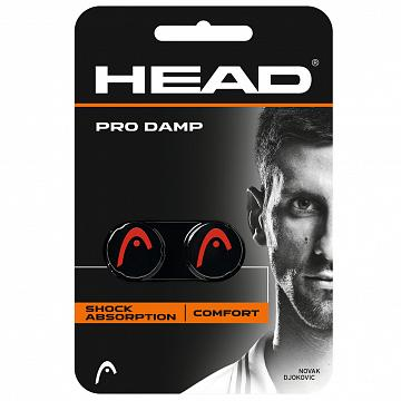Head Pro Damp Black / Red 2 szt