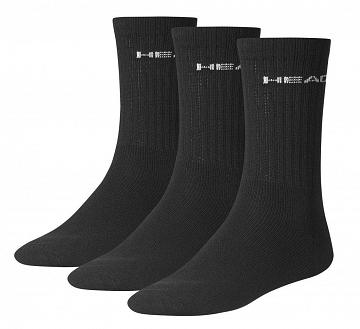 Head Tennis Club Socks 3P Black
