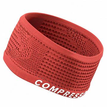 Compressport Headband On/Off Coral