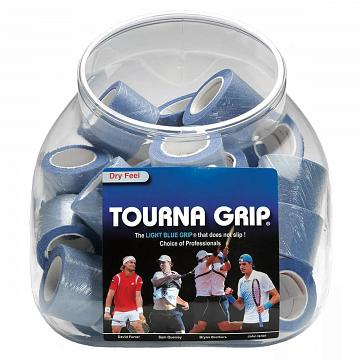 Tourna Grip 36 Jar Display Blue