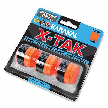 Karakal X-TAK Grip Orange 3szt.