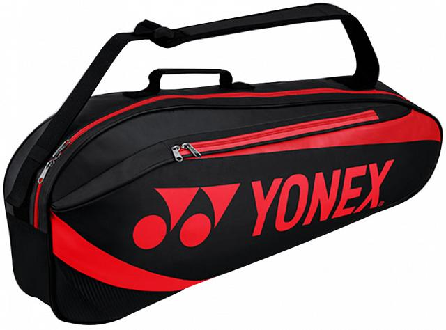 Yonex Bag 8923 Racket Bag Black Red
