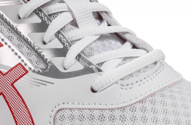 Asics Upcourt 2 White/Red/Silver