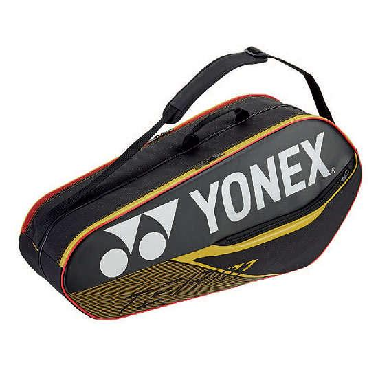 Yonex Team Racquet Bag 6R 42026 Black / Yellow