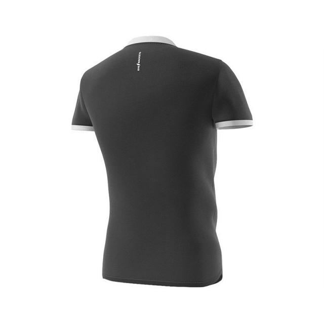 Eye Henley Shirt Black / White