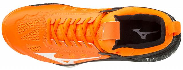 Mizuno Wave Momentum Orange Clownfish