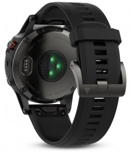 Sport watch Garmin Fenix 5 HRM Elevate Slate Gray / Black Band