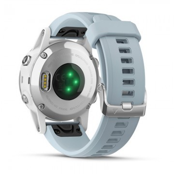 Garmin Fenix 5S Plus White / Seafoam Band