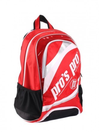 Pro's Pro L118 Backpack Red / White