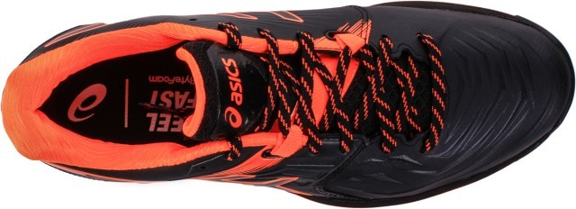 Ascis Gel-Blast FF Black Orange