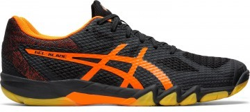 ASICS Gel-Blade 7 Black / Shocking Orange