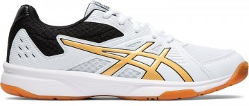 ASICS Upcourt 3 White / Pure Gold
