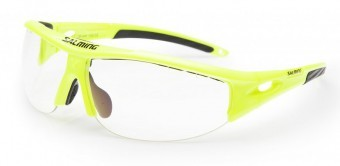 Salming Protec Eyewear V1 Senior Żółte okulary do squasha