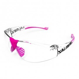 Salming Split Vision Junior Trans/Pink okulary do squasha