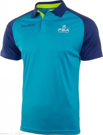 Salming PSA Performance Polo Blue