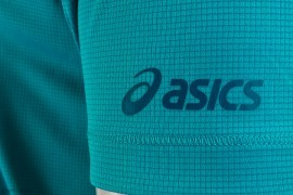 Asics SS Graphic Top Blue