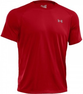 Under Armour Tech Shortsleeve Czerwona