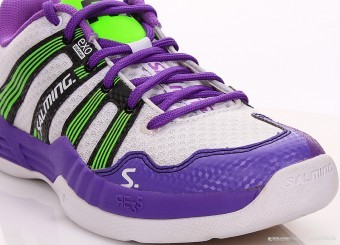 Salming Race R5 2.0 Women Purple/White buty do squasha damskie