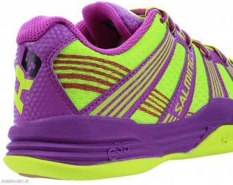 Salming Race R5 3.0 Women Yellow buty do squasha damskie