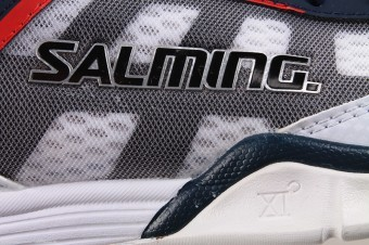 Salming Viper 2.0 White/Navy buty do squasha