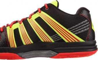 Salming Race R9 Mid 2.0 Black/Red buty do squasha