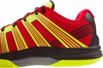 Salming Race R1 3.0 Red/Yellow buty do squasha