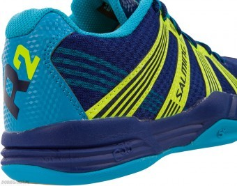 Salming Race R2 3.0  Navy/Yellow buty do squasha
