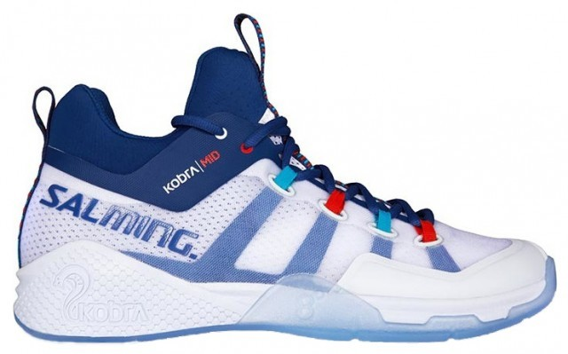 Salming Kobra Mid 2 White Blue
