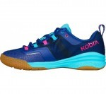 Salming Kobra 2 Women Blue Pink buty do squasha damskie