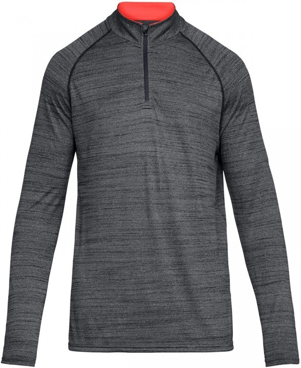 Under Armour Tech™ Novelty 1/4 Zip Grey Orange