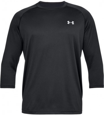 Under Armour Tech Power 3/4 Sleeve Black