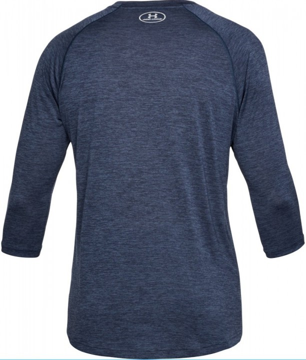 Under Armour Tech Power 3/4 Sleeve Grey Blue