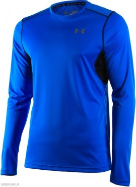 Under Armour Coldblack LS Niebieski
