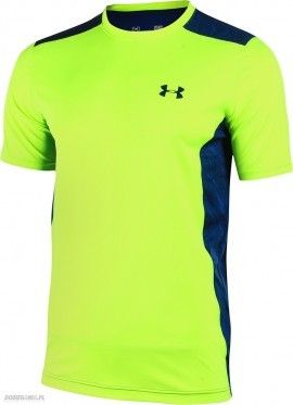 Under Armour T-shirt Raid-SS Safety Yellow